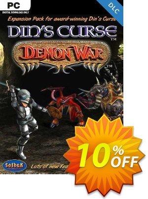Din's Curse Demon War DLC PC Coupon discount Din's Curse Demon War DLC PC Deal. Promotion: Din's Curse Demon War DLC PC Exclusive Easter Sale offer for iVoicesoft