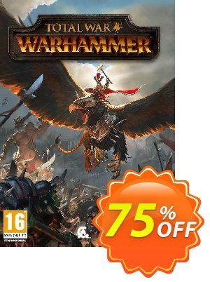 Total War: Warhammer PC (WW) discount coupon Total War: Warhammer PC (WW) Deal - Total War: Warhammer PC (WW) Exclusive Easter Sale offer for iVoicesoft