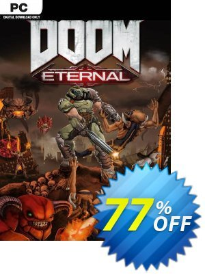 DOOM Eternal PC (WW) + DLC discount coupon DOOM Eternal PC (WW) + DLC Deal - DOOM Eternal PC (WW) + DLC Exclusive Easter Sale offer for iVoicesoft