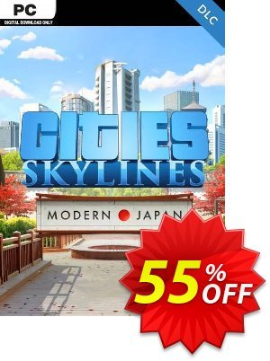Cities: Skylines - Content Creator Pack Modern Japan PC discount coupon Cities: Skylines - Content Creator Pack Modern Japan PC Deal - Cities: Skylines - Content Creator Pack Modern Japan PC Exclusive Easter Sale offer for iVoicesoft