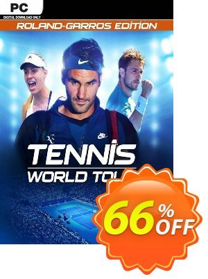 Tennis World Tour: Roland-Garros Edition PC Coupon discount Tennis World Tour: Roland-Garros Edition PC Deal. Promotion: Tennis World Tour: Roland-Garros Edition PC Exclusive Easter Sale offer for iVoicesoft