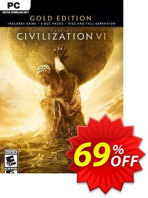 Sid Meiers Civilization VI 6 Gold Edition PC discount coupon Sid Meiers Civilization VI 6 Gold Edition PC Deal - Sid Meiers Civilization VI 6 Gold Edition PC Exclusive Easter Sale offer for iVoicesoft