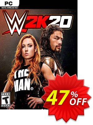 WWE 2K20 PC (EU) Coupon discount WWE 2K20 PC (EU) Deal. Promotion: WWE 2K20 PC (EU) Exclusive Easter Sale offer for iVoicesoft