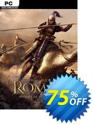 Total War Rome II: Enemy At the Gates Edition PC discount coupon Total War Rome II: Enemy At the Gates Edition PC Deal - Total War Rome II: Enemy At the Gates Edition PC Exclusive Easter Sale offer for iVoicesoft