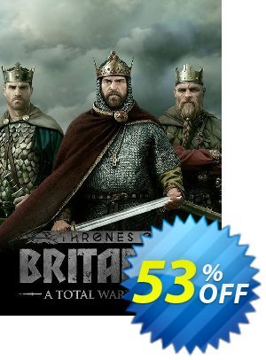 Total War Saga: Thrones of Britannia PC (WW) discount coupon Total War Saga: Thrones of Britannia PC (WW) Deal - Total War Saga: Thrones of Britannia PC (WW) Exclusive Easter Sale offer for iVoicesoft