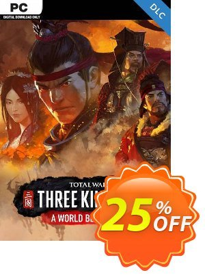 Total War: Three Kingdoms - A World Betrayed PC discount coupon Total War: Three Kingdoms - A World Betrayed PC Deal - Total War: Three Kingdoms - A World Betrayed PC Exclusive Easter Sale offer for iVoicesoft