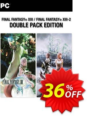 Final Fantasy XIII 13 Double Pack PC 優惠券,折扣碼 Final Fantasy XIII 13 Double Pack PC Deal,促銷代碼: Final Fantasy XIII 13 Double Pack PC Exclusive Easter Sale offer for iVoicesoft