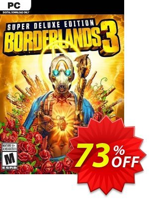 Borderlands 3 - Super Deluxe Edition PC (Steam) discount coupon Borderlands 3 - Super Deluxe Edition PC (Steam) Deal - Borderlands 3 - Super Deluxe Edition PC (Steam) Exclusive Easter Sale offer for iVoicesoft