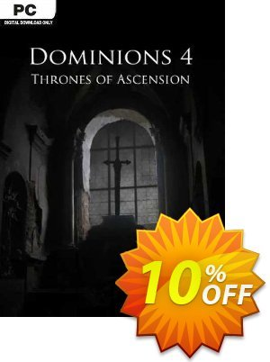 Dominions 4 Thrones of Ascension PC discount coupon Dominions 4 Thrones of Ascension PC Deal - Dominions 4 Thrones of Ascension PC Exclusive Easter Sale offer for iVoicesoft