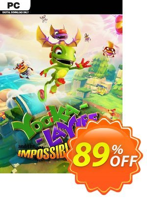 Yooka-Laylee and the Impossible Lair PC discount coupon Yooka-Laylee and the Impossible Lair PC Deal - Yooka-Laylee and the Impossible Lair PC Exclusive Easter Sale offer for iVoicesoft