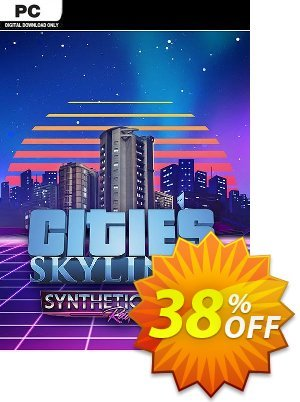 Cities Skylines PC - Synthetic Dawn Radio DLC 優惠券,折扣碼 Cities Skylines PC - Synthetic Dawn Radio DLC Deal,促銷代碼: Cities Skylines PC - Synthetic Dawn Radio DLC Exclusive Easter Sale offer for iVoicesoft