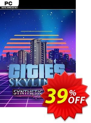Cities Skylines PC - Synthetic Dawn Radio DLC discount coupon Cities Skylines PC - Synthetic Dawn Radio DLC Deal - Cities Skylines PC - Synthetic Dawn Radio DLC Exclusive Easter Sale offer for iVoicesoft