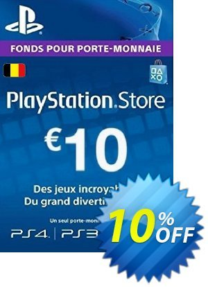 PlayStation Network (PSN) Card - 10 EUR (Belgium) discount coupon PlayStation Network (PSN) Card - 10 EUR (Belgium) Deal - PlayStation Network (PSN) Card - 10 EUR (Belgium) Exclusive Easter Sale offer for iVoicesoft