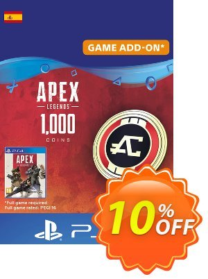 Apex Legends 1000 Coins PS4 (Spain) discount coupon Apex Legends 1000 Coins PS4 (Spain) Deal - Apex Legends 1000 Coins PS4 (Spain) Exclusive Easter Sale offer for iVoicesoft