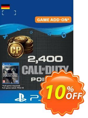 Call of Duty Modern Warfare - 2400 Points PS4 (Germany) discount coupon Call of Duty Modern Warfare - 2400 Points PS4 (Germany) Deal - Call of Duty Modern Warfare - 2400 Points PS4 (Germany) Exclusive Easter Sale offer for iVoicesoft