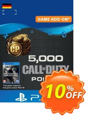 Call of Duty Modern Warfare - 5000 Points PS4 (Germany) discount coupon Call of Duty Modern Warfare - 5000 Points PS4 (Germany) Deal - Call of Duty Modern Warfare - 5000 Points PS4 (Germany) Exclusive Easter Sale offer for iVoicesoft