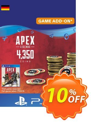 Apex Legends 4350 Coins PS4 (Germany) 優惠券,折扣碼 Apex Legends 4350 Coins PS4 (Germany) Deal,促銷代碼: Apex Legends 4350 Coins PS4 (Germany) Exclusive Easter Sale offer for iVoicesoft