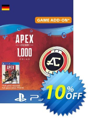 Apex Legends 1000 Coins PS4 (Germany) discount coupon Apex Legends 1000 Coins PS4 (Germany) Deal - Apex Legends 1000 Coins PS4 (Germany) Exclusive Easter Sale offer for iVoicesoft