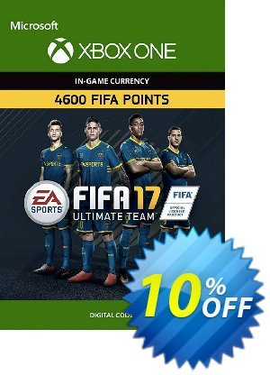 Fifa 17 - 4600 FUT Points (Xbox One) discount coupon Fifa 17 - 4600 FUT Points (Xbox One) Deal - Fifa 17 - 4600 FUT Points (Xbox One) Exclusive Easter Sale offer for iVoicesoft