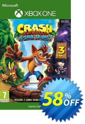 Crash Bandicoot N. Sane Trilogy Xbox One (UK) discount coupon Crash Bandicoot N. Sane Trilogy Xbox One (UK) Deal - Crash Bandicoot N. Sane Trilogy Xbox One (UK) Exclusive Easter Sale offer for iVoicesoft