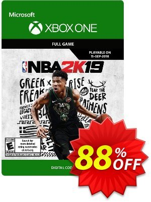 NBA 2K19 Xbox One discount coupon NBA 2K19 Xbox One Deal - NBA 2K19 Xbox One Exclusive Easter Sale offer for iVoicesoft