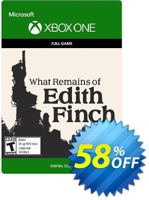 What Remains of Edith Finch Xbox One discount coupon What Remains of Edith Finch Xbox One Deal - What Remains of Edith Finch Xbox One Exclusive Easter Sale offer for iVoicesoft