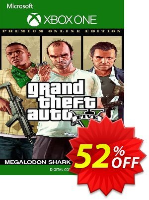 Grand Theft Auto V 5 Premium Online Edition and Megalodon Shark Card Bundle Xbox One (UK) discount coupon Grand Theft Auto V 5 Premium Online Edition and Megalodon Shark Card Bundle Xbox One (UK) Deal - Grand Theft Auto V 5 Premium Online Edition and Megalodon Shark Card Bundle Xbox One (UK) Exclusive Easter Sale offer for iVoicesoft