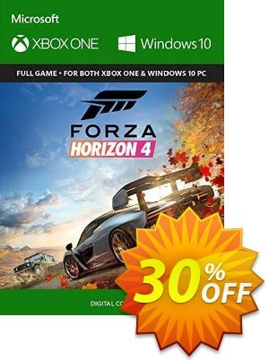 Forza Horizon 4 Xbox One/PC (UK) discount coupon Forza Horizon 4 Xbox One/PC (UK) Deal - Forza Horizon 4 Xbox One/PC (UK) Exclusive Easter Sale offer for iVoicesoft