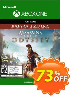 Assassin's Creed Odyssey - Deluxe Edition Xbox One discount coupon Assassin's Creed Odyssey - Deluxe Edition Xbox One Deal - Assassin's Creed Odyssey - Deluxe Edition Xbox One Exclusive Easter Sale offer for iVoicesoft