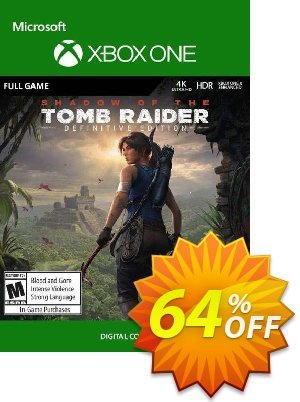 Shadow of the Tomb Raider Definitive Edition Xbox One (UK) discount coupon Shadow of the Tomb Raider Definitive Edition Xbox One (UK) Deal - Shadow of the Tomb Raider Definitive Edition Xbox One (UK) Exclusive Easter Sale offer for iVoicesoft