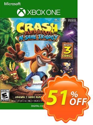 Crash Bandicoot N. Sane Trilogy Xbox One (US) 프로모션 코드 Crash Bandicoot N. Sane Trilogy Xbox One (US) Deal 프로모션: Crash Bandicoot N. Sane Trilogy Xbox One (US) Exclusive Easter Sale offer for iVoicesoft
