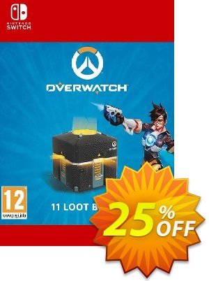 Overwatch - 11 Loot Boxes Switch (EU) 優惠券,折扣碼 Overwatch - 11 Loot Boxes Switch (EU) Deal,促銷代碼: Overwatch - 11 Loot Boxes Switch (EU) Exclusive Easter Sale offer for iVoicesoft
