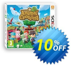 Animal Crossing: New Leaf 3DS - Game Code 프로모션 코드 Animal Crossing: New Leaf 3DS - Game Code Deal 프로모션: Animal Crossing: New Leaf 3DS - Game Code Exclusive Easter Sale offer for iVoicesoft
