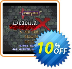 Castlevania Dracula X 3DS - Game Code (ENG) 프로모션 코드 Castlevania Dracula X 3DS - Game Code (ENG) Deal 프로모션: Castlevania Dracula X 3DS - Game Code (ENG) Exclusive Easter Sale offer for iVoicesoft