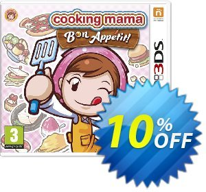 Cooking Mama 5: Bon Appétit! 3DS - Game Code discount coupon Cooking Mama 5: Bon Appétit! 3DS - Game Code Deal - Cooking Mama 5: Bon Appétit! 3DS - Game Code Exclusive Easter Sale offer for iVoicesoft