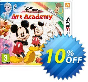 Disney Art Academy 3DS - Game Code discount coupon Disney Art Academy 3DS - Game Code Deal - Disney Art Academy 3DS - Game Code Exclusive Easter Sale offer for iVoicesoft
