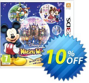 Disney Magical World 3DS - Game Code discount coupon Disney Magical World 3DS - Game Code Deal - Disney Magical World 3DS - Game Code Exclusive Easter Sale offer for iVoicesoft