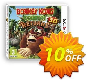 Donkey Kong Country Returns 3D 3DS - Game Code promotions