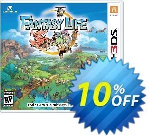 Fantasy Life 3DS - Game Code discount coupon Fantasy Life 3DS - Game Code Deal - Fantasy Life 3DS - Game Code Exclusive Easter Sale offer for iVoicesoft