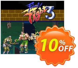 Final Fight 3 3DS - Game Code (ENG) discount coupon Final Fight 3 3DS - Game Code (ENG) Deal - Final Fight 3 3DS - Game Code (ENG) Exclusive Easter Sale offer for iVoicesoft