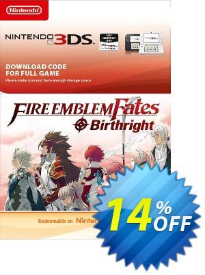 Fire Emblem Fates: Birthright 3DS discount coupon Fire Emblem Fates: Birthright 3DS Deal - Fire Emblem Fates: Birthright 3DS Exclusive Easter Sale offer for iVoicesoft