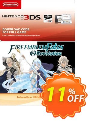 Fire Emblem Fates: Revelation 3DS discount coupon Fire Emblem Fates: Revelation 3DS Deal - Fire Emblem Fates: Revelation 3DS Exclusive Easter Sale offer for iVoicesoft