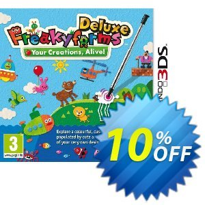 Freakyforms Deluxe 3DS - Game Code discount coupon Freakyforms Deluxe 3DS - Game Code Deal - Freakyforms Deluxe 3DS - Game Code Exclusive Easter Sale offer for iVoicesoft