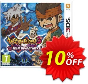 Inazuma Eleven 3 Team Ogre Attacks Game 3DS - Game Code 프로모션 코드 Inazuma Eleven 3 Team Ogre Attacks Game 3DS - Game Code Deal 프로모션: Inazuma Eleven 3 Team Ogre Attacks Game 3DS - Game Code Exclusive Easter Sale offer for iVoicesoft