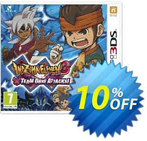 Inazuma Eleven 3 Team Ogre Attacks Game 3DS - Game Code discount coupon Inazuma Eleven 3 Team Ogre Attacks Game 3DS - Game Code Deal - Inazuma Eleven 3 Team Ogre Attacks Game 3DS - Game Code Exclusive Easter Sale offer for iVoicesoft