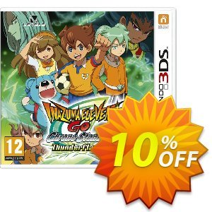 Inazuma Eleven GO Chrono Stones: Thunderflash 3DS - Game Code discount coupon Inazuma Eleven GO Chrono Stones: Thunderflash 3DS - Game Code Deal - Inazuma Eleven GO Chrono Stones: Thunderflash 3DS - Game Code Exclusive Easter Sale offer for iVoicesoft