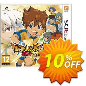 Inazuma Eleven Go: Light 3DS - Game Code discount coupon Inazuma Eleven Go: Light 3DS - Game Code Deal - Inazuma Eleven Go: Light 3DS - Game Code Exclusive Easter Sale offer for iVoicesoft