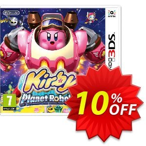Kirby Planet Robobot 3DS - Game Code discount coupon Kirby Planet Robobot 3DS - Game Code Deal - Kirby Planet Robobot 3DS - Game Code Exclusive Easter Sale offer for iVoicesoft