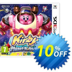 Kirby Planet Robobot 3DS - Game Code Coupon discount Kirby Planet Robobot 3DS - Game Code Deal