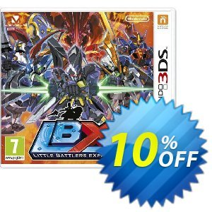 Little Battlers Experience 3DS - Game Code discount coupon Little Battlers Experience 3DS - Game Code Deal - Little Battlers Experience 3DS - Game Code Exclusive Easter Sale offer for iVoicesoft